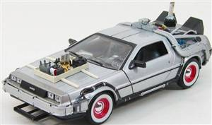 DE LOREAN - TIME MACHINE 3 - RITORNO AL FUTURO 3 - BACK TO THE FUTURE III
