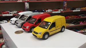 FORD TRANSIT CONNECT 1:34-1:39 Scales