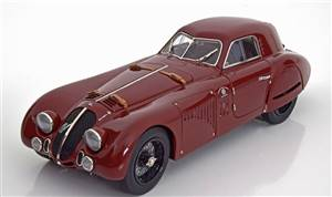 Alfa Romeo 8C 2900 B Speciale Touring Coupe 1938 darkred