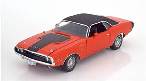 Dodge Challenger R/T 1970 orange/black