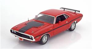 Dodge Challenger R/T 40 years 1970 red/black