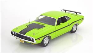 Dodge Challenger R/T 1970 lightgreen/black
