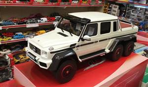 Mercedes G63 AMG 6X6 2014 white Limited Edition 2000 pcs.