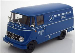 Mercedes L319 Mercedes-Benz Service 1960-1966 blue special edition by Mercedes