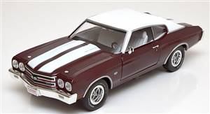 Chevrolet Chevelle SS 1970 darkred-metallic/white