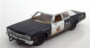 Dodge Monaco Bluesmobile Blues Brothers 1974 black/white