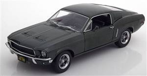 Ford Mustang Fastback from the movie Bullitt 1967 darkgreen-metallic Steve McQueen