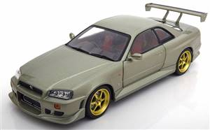 Nissan Skyline GT-R (R34) 1999 lightgreen-metallic