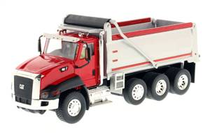Caterpillar CT660 Dump Truck in Red -