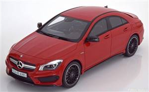 Mercedes CLA 45 AMG red Limited Edition 750 pcs.