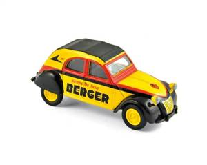 CITROEN - 2CV 6 BERGER COURSE CYCLISTE 1959