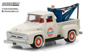 1956 Ford F-100 with Drop-in Tow Hook – Gulf Oil