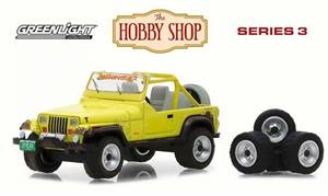 1991 Jeep Wrangler YJ w/ Wheel and Tire Set, Yellow