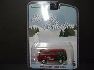 Volkswagen Type 2 Bus Red Holiday Collection