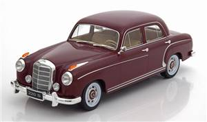 Mercedes 220S W180II Saloon 1956 darkred Limited Edition 750 pcs