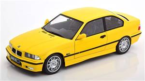 BMW M3 E36 1996 yellow with Decals