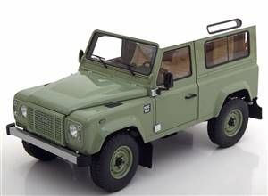 Land Rover Defender 90 Heritage Edition 2015 lightgreen white Limited Edition 2000 pcs