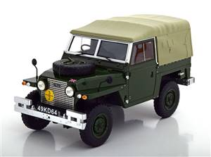 Land Rover Lightweight Series IIA Soft Top 1968 darkgreen Limited Edition 324 pcs