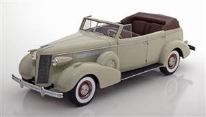 Buick Roadmaster 80-C Four Door Phaeton Convertible 1937 lightgrey Limited Edition 252 pcs