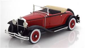 Dodge Eight DG Convertible 1931 red black Limited Edition 504 pcs