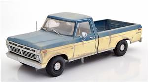 Ford F-100 from the Series The Walking Dead 1973 lightblue white