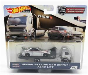 MACK - TRUCK WITH NISSAN SKYLINE GT-R (BNR34) AERO LIFT