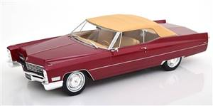 Cadillac DeVille with Softtop 1967 bordeaux-redmetallic Limited Edition 500 pcs