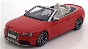 Audi RS5 Convertible 2012-2015 red Limited Edition 300 pcs