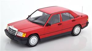 Mercedes 190E W201 1982 red Limited Edition 702 pcs