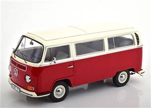 VW T2a Bus L 1967 red white Limited Edition 1000 pcs