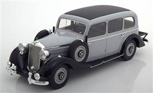 Mercedes 260D Pullman 1937 lightgrey black Limited Edition 504 pcs