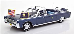 Lincoln Continental X100 J F Kennedy 1961 darkblue-metallic Limited Edition 300 pcs