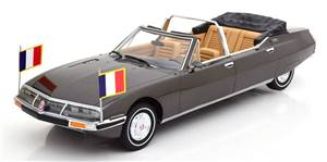 Citroen SM Presidentielle by Chapron Georges Pompidou 1972 darkgrey-metallic Limited Edition 300 pcs
