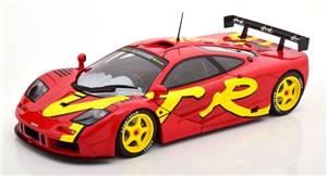 McLaren F1 GTR 1996 red yellow