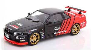 Nissan Skyline GT-R R34 Advan Drift 1999