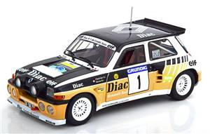 Renault 5 Maxi Turbo No 1 Rally du Var 1986 Chatriot/Perin