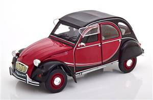 Citroen 2CV6 Charleston 1982 darkred black